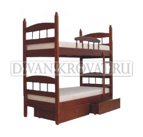 Двухъярусная кровать Кузька-2